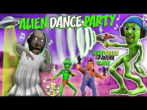 GRANNY HIDE n SEEK in GRANDPA's House w/ Alien Neighbors (FGTEEV Weird Funny Game)