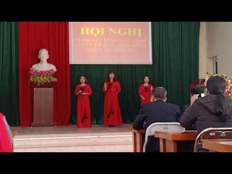 Văn nghệ chào mừng Tổng kết Đảng bộ xã Tân Linh năm 2020