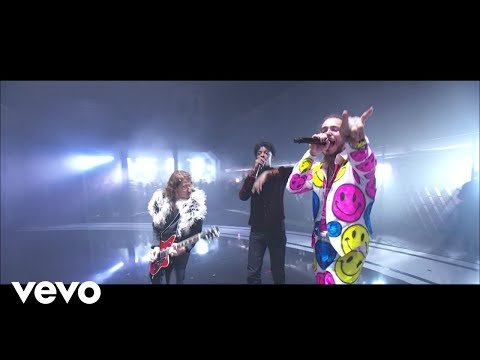 Post Malone - rockstar (Live From The MTV VMAs) ft. 21 Savage