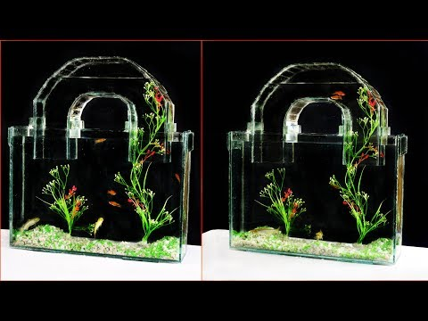 How To Make Unique Aquarium Looks Like A Lock