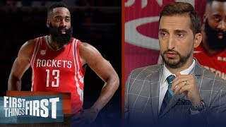 James Harden is only missing a championship on his resume — Nick Wright | NBA | FIRST THINGS FIRST