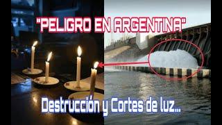 Represa De Yacyretá Se DERRUMBA Y Ocasiona Cortes De Luz ...  Audio Lo Revela ...😭