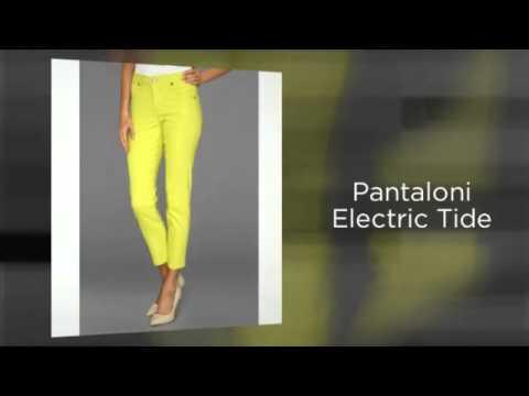Pantaloni capri pentru femei