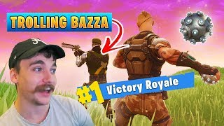 Trolling my Friend in Fortnite! ft. BazzaGazza - Fortnite Battle Royale