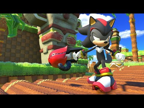 Sonic Forces - Episode Shadow DLC Gameplay