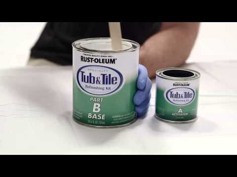 Rust Oleum Specialty Tub & Tile Epoxy Paint