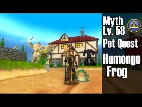 Wizard 101 - Humongofrog Pet Quest! - смотреть онлайн на Hah