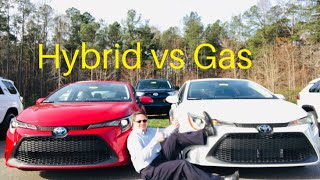 2020 Corolla Hybrid LE vs 2020 Corolla LE: You decide who wins!