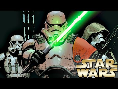 Stormtrooper Trained With a Lightsaber (Canon) – Star Wars Explained