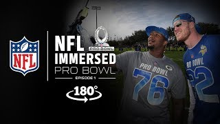 VR180º All-Access at Pro Bowl Practice | Mike Daniels & LeSean McCoy Ep. 1 | NFL Immersed