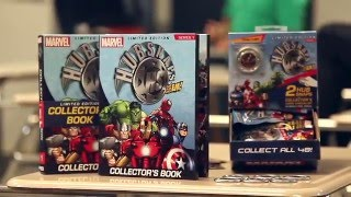 Introducing Marvel HUBSNAPS from NECA