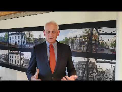 Burgemeester praat Schiedammers bij over Coronagevolgen