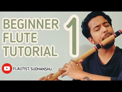 BEGINNERS FLUTE TUTORIAL 1- THE BLOWING TECHNIQUE AND HANDLING OF FLUTE