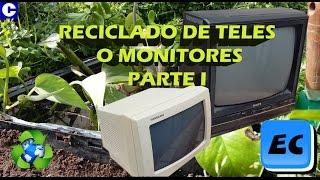 Que hacer con un televisor o monitor viejo o roto