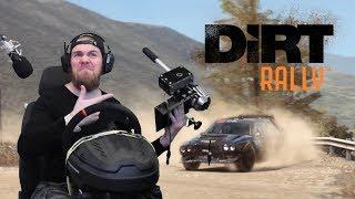 Dirt Rally - ОТВАЛИЛАСЬ КПП И РУЧНИК (ПОЛНАЯ ВЕРСИЯ)