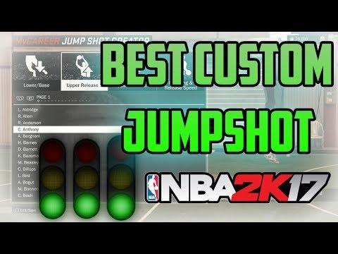 THE BEST JUMPSHOT ON 2K17?!!