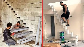 Ingenious Construction Workers