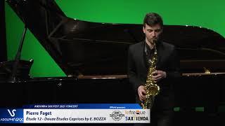 Pierre Faget plays Étude 12 – Douze Études Caprices by Eugène BOZZA