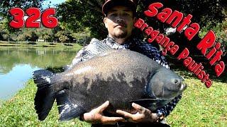 Programa Fishingtur na TV 326 - Pesqueiro Santa Rita