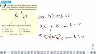 Eğitim Vadisi AYT Fizik 18.Föy Dalga Mekaniği 1 (Dalga Kırınım, Girişim ve Doppler Olayı) Konu Anlatım Videoları
