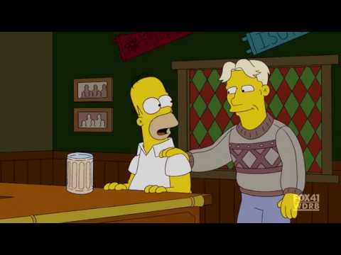 Homer Simpson King Harald & Aquavit.avi