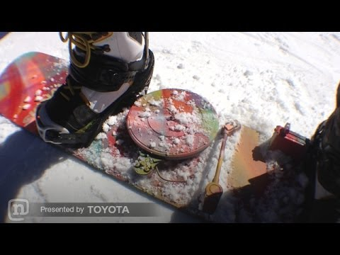 A Turntable Snowboard Brings The Party To The Slopes