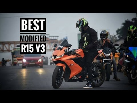 Top 5 modified Yamaha R15 V3 - смотреть онлайн на Hah Life