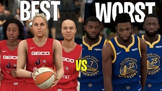 Can The Best Team In The WNBA Beat The Worst Team In The NBA? | NBA 2K20