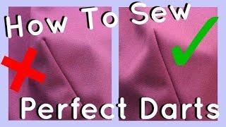 How to Sew Darts   Beginner & Advanced