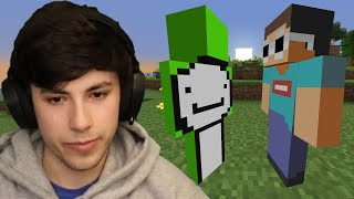 Minecraft, But Dream Hunts Me Down...