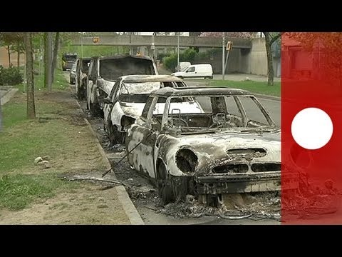 Youths Set Cars Ablaze In Stockholm Suburb
