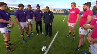 New rugby law trials explained with Alain Rolland