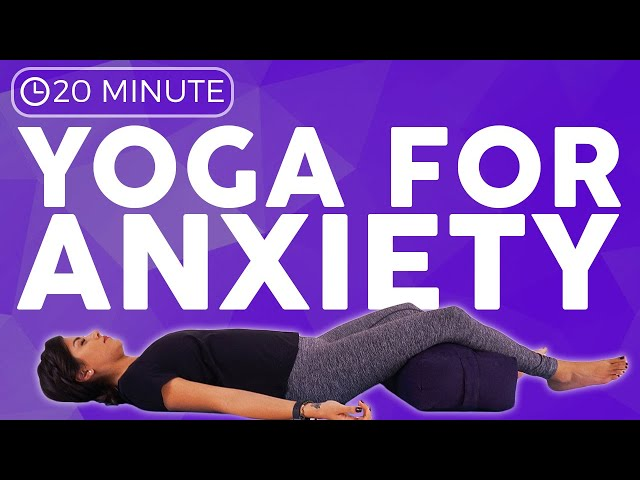 20 minute CALMING Yoga for Anxiety | Sarah Beth Yoga