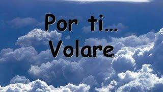 Andrea Bocelli Por ti volaré