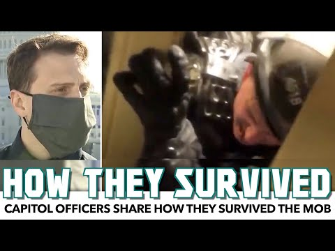Capitol Officers Share How They Survived The Mob