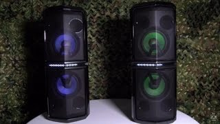 LG FH6 LED Party Speakers - THE NEW KING!