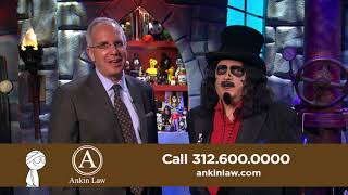 Svengoolie in Ankin Law Car Accident Commercial