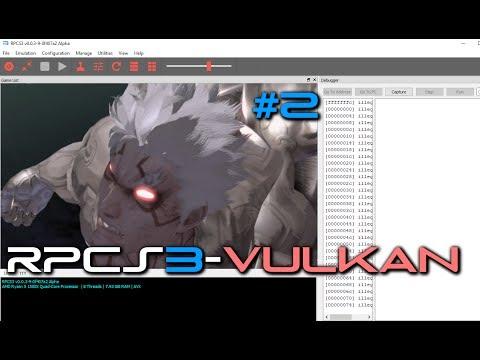 PS3 Emulator-RPCS3-LLVM-Vulkan ASURAS WRATH MASSIVE UPGRADE SMOOTH