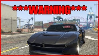 GTA ONLINE   ***WARNING*** DO NOT BUY THE VISERIS UNTIL YOU WATCH THIS!
