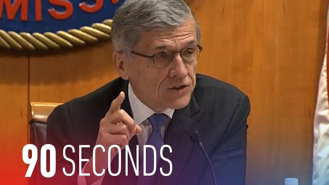 The FCC unveils its net neutrality proposal: 90 Seconds on The Verge thumbnail