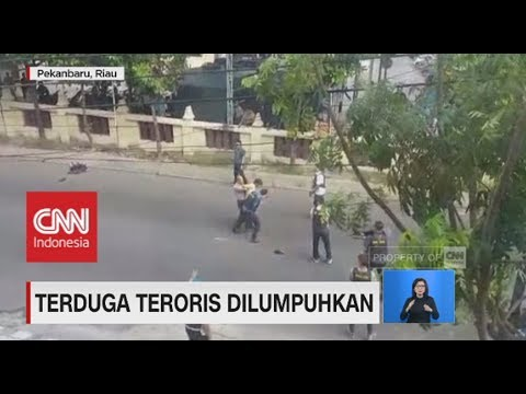 Detik-Detik Diringkusnya Teroris di Pekan Baru Riau