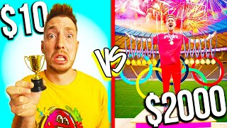 $10 VS $2,000 OLYMPICS! *Budget Challenge*