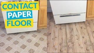 Contact Paper Floor