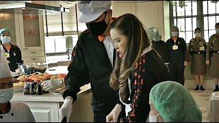 สมเด็จเจ้าฟ้ากรมพระศรี ฯ ทรงประกอบอาหารเมนูข้าวผัดหยางโจว เพื่อพระราชทานแก่แพทย์ พยาบาล จ.นครราชสีมา