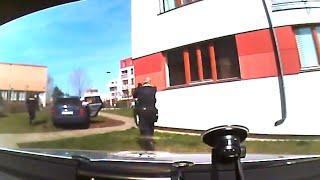 preview picture of video 'Zběsilou policejní honičku v Praze ukončila až střelba policistů'