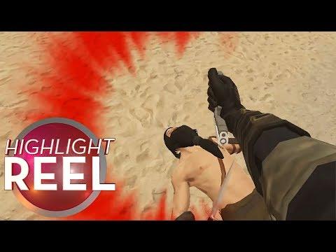 VR Gun Fu Backfires