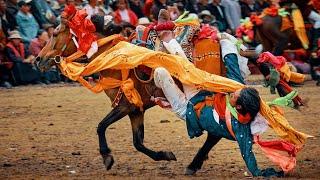 preview picture of video 'Tibetský nomád, slávnosti koní a Litang, mesto s krvavou históriou ['