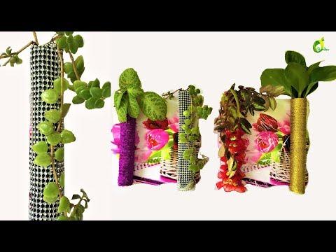 wall decor ideas/wall decor plants/pvc pipe ideas/organic garden