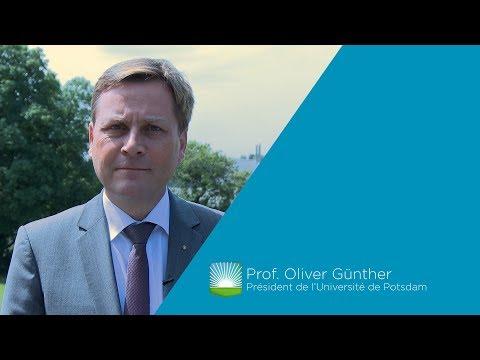 Interview du Professeur Oliver Günther, Président de l'Université de Potsdam