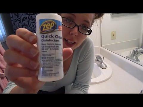 Zep quick clean disinfectant